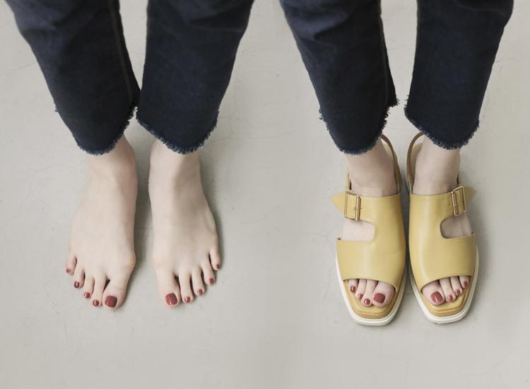 D+AF 拇指外翻涼鞋特輯 涼鞋推薦 寬版厚底涼鞋 逸歡聯名 涼鞋 拇指外翻涼鞋推薦