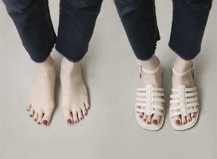D+AF 拇指外翻涼鞋特輯 潮流特色 編織涼鞋 魚骨編隻涼鞋 編織平底涼鞋 拇指外翻編織羅馬涼鞋推薦