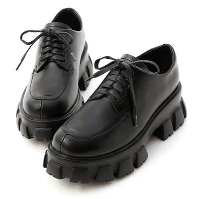 D+AF輕量鋸齒底綁帶牛津鞋