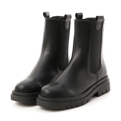 焦點時尚.加厚鞋底切爾西短靴 黑色切爾西靴推薦
