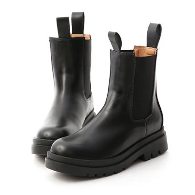 獨領風潮.加厚鞋底切爾西短靴 黑色切爾西靴推薦