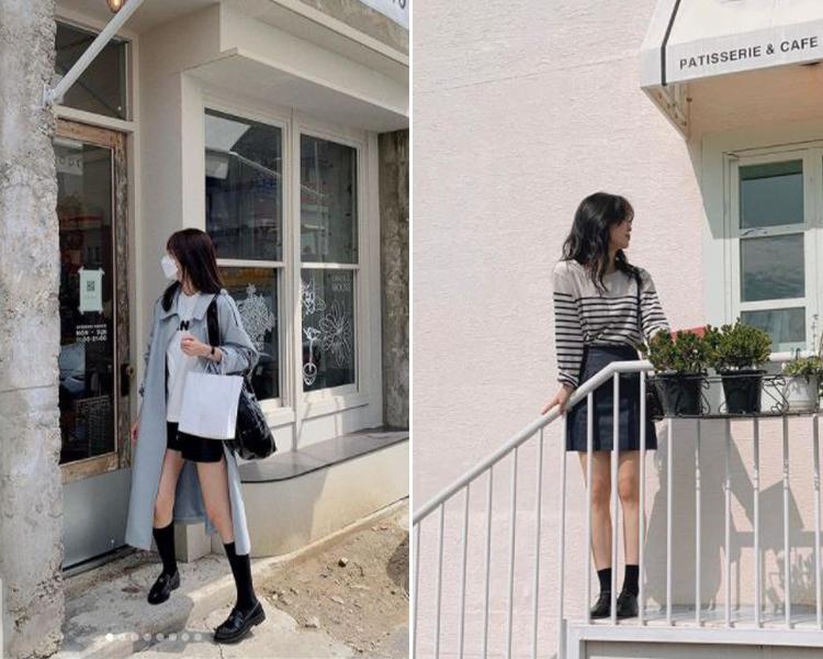 2021女鞋推薦 韓國穿搭 D+AF樂福鞋 牛津鞋 @luv_duri/@s.soom 穿搭