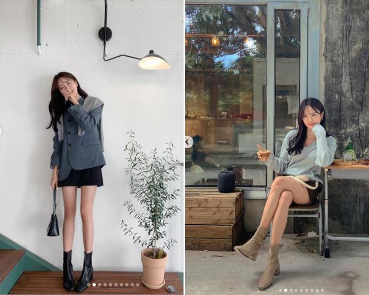 2021女鞋推薦 韓國穿搭 襪靴短靴 @jye._.e穿搭