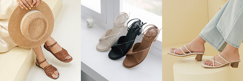 D+AF x愛莉莎莎聯名 Alisasa夏季聯名鞋款:涼鞋